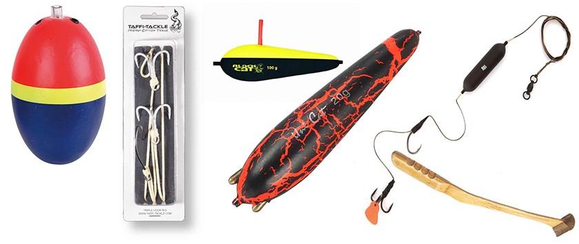 Unterwasser Pose 2 Stück Taffi Tackle Angeln Wels Waller U-Float 40g