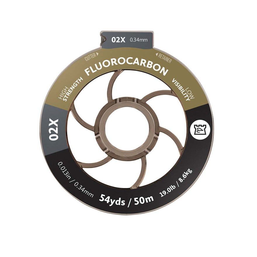 Hardy Fluorocarbon Tippet 50m 0,34mm