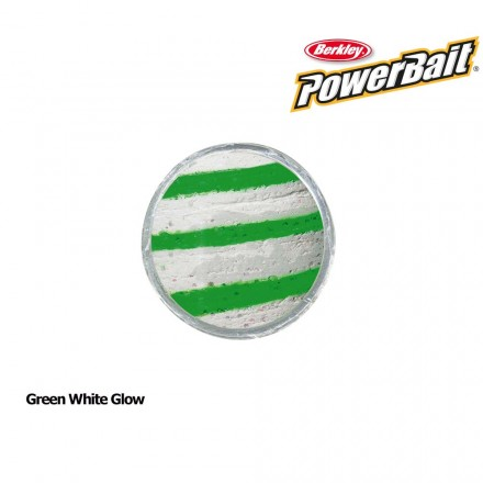 Berkley Powerbait Glow in the Dark Green White Glow