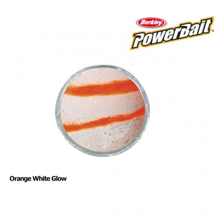 Berkley Powerbait Glow in the Dark Orange White Glow
