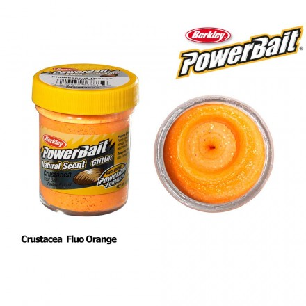 Berkley Powerbait Natural Scent Crustacea Fluo Orange