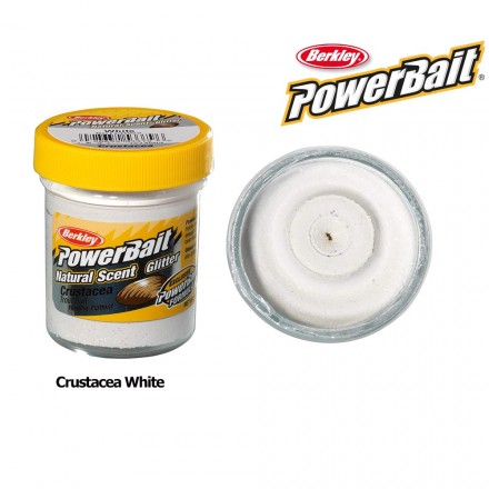 Berkley Powerbait Natural Scent Crustacea White