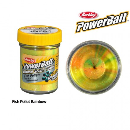 Berkley Powerbait Natural Scent Fish Pellet Rainbow