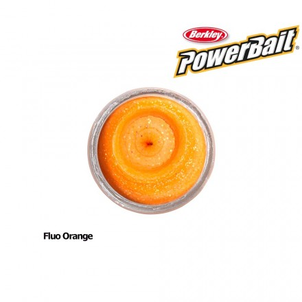 Berkley Powerbait Natural Scent Bloodworm Fluo Orange