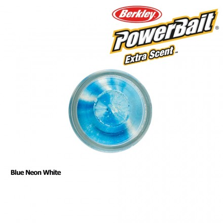Berkley Powerbait Select Glitter Trout Bait Blue Neon White