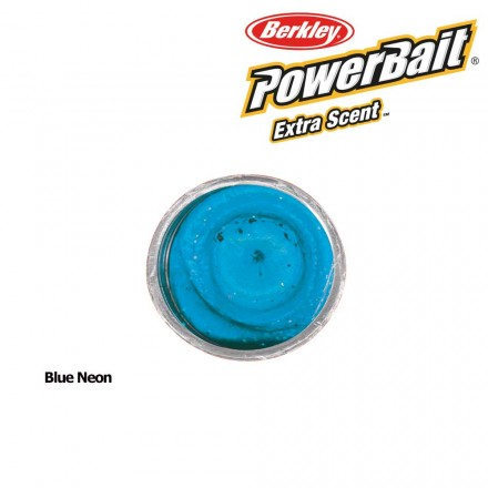Berkley Powerbait Select Glitter Trout Bait Blue Neon