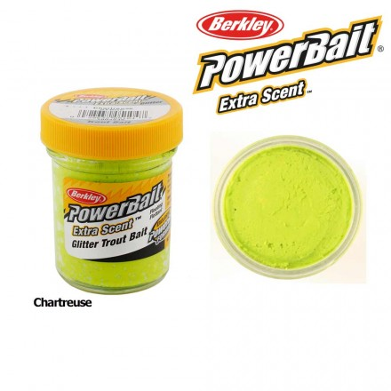 Berkley Powerbait Select Glitter Trout Bait Chartreuse