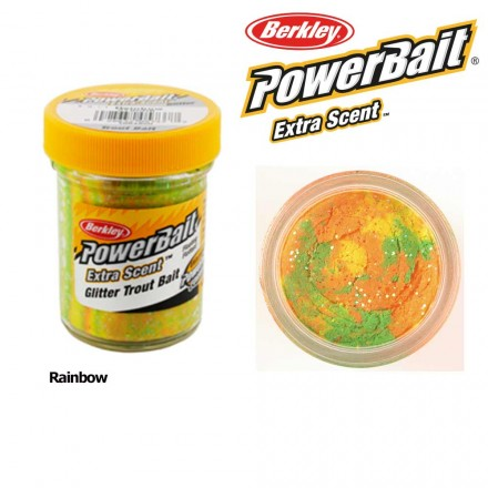 Berkley Powerbait Select Glitter Trout Bait Rainbow