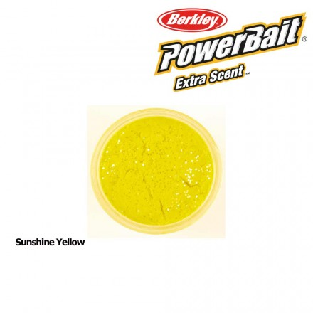 Berkley Powerbait Select Glitter Trout Bait Sunshine Yellow
