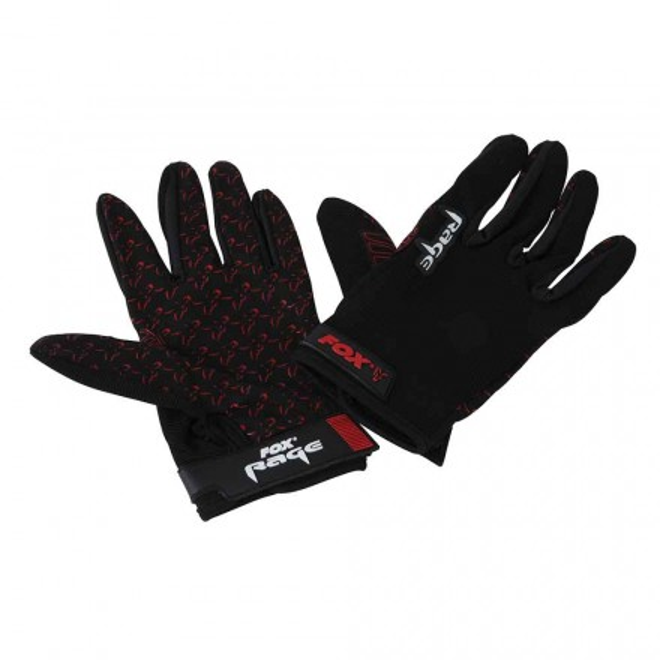 Fox Rage Gloves Angelhandschuhe schwarzM-XXL Angelsport Bekleidung