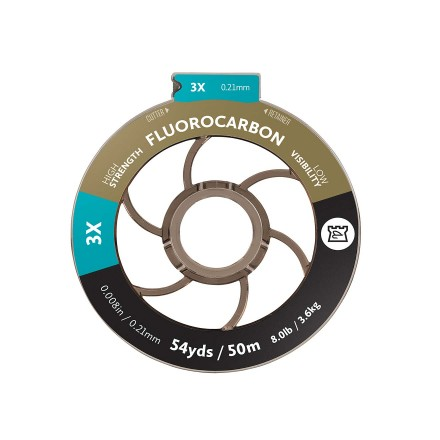 Hardy Fluorocarbon Tippet 50m 0,21mm