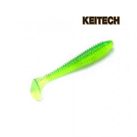 Keitech Fat Swing Impact 4.8inch Lime Chartreuse