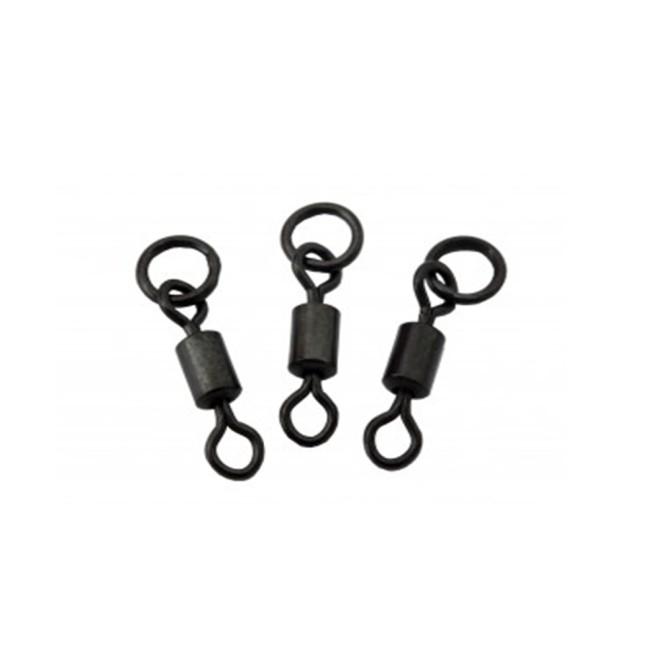 Edges Flexi Ring Swivel Size 7 Fox Karpfenangeln Zubehör 10 Stück
