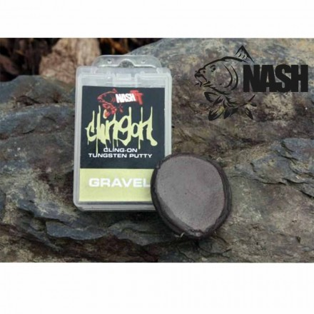NASH Cling-On Tungsten Putty Gravel Knetblei