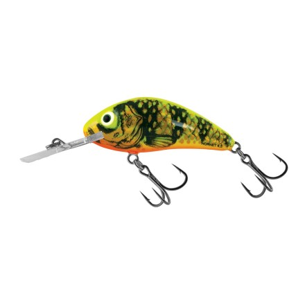 Salmo Rattlin Hornet Floating Gold Fluo Perch