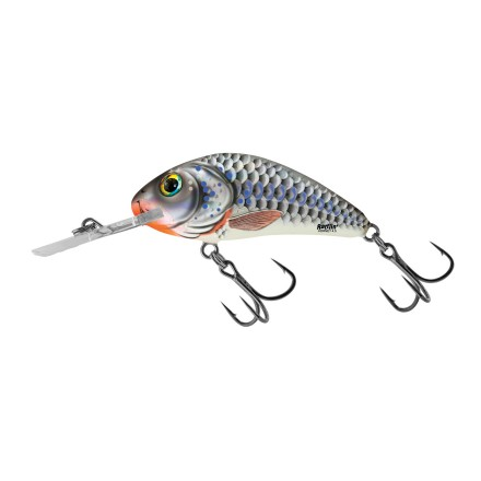 Salmo Rattlin Hornet Floating Silver Holographic Shad