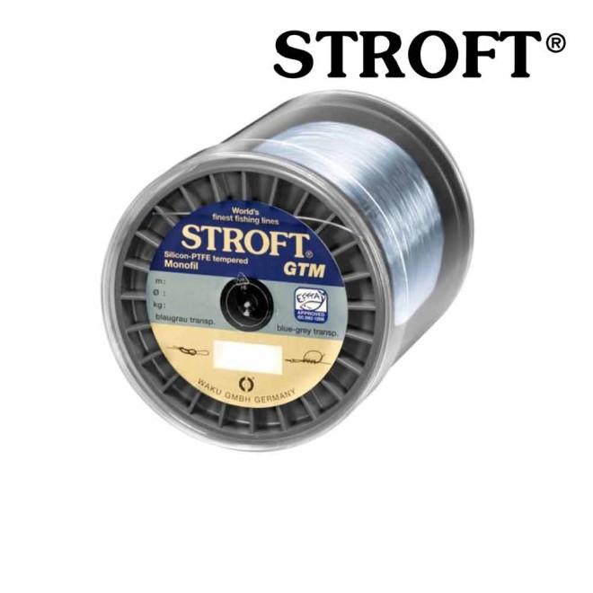 STROFT GTM 1000 m Monofile Angelschnur 0.03 mm bis 0.575 mm Blaugrau transparent