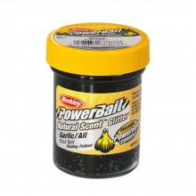 Berkley Powerbait Natural Scent Garlic Black Glitter