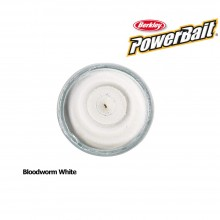 Berkley Powerbait Natural Scent Bloodworm White