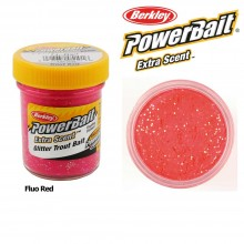 Berkley Powerbait Select Glitter Trout Bait Fluo Red