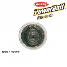 Berkley Powerbait Select Glitter Trout Bait Smoke N Fire Silver