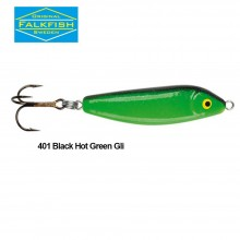 Falkfish Spöket 60mm 18g 401 Black Hot Green GLI